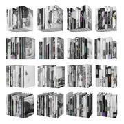 Böcker 150 stycken 2-9-3 3d model