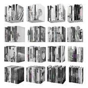 Books 150 pieces 2-9-5 3d model