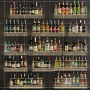 Stor bar 7 Alkohol 3d model