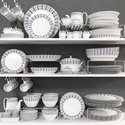 Sammlung von Gerichten 3d model