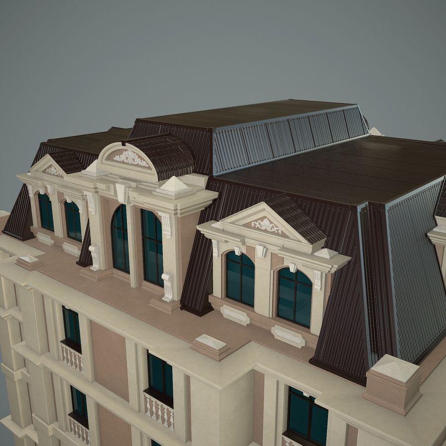 低层建筑 royalty-free 3d model - Preview no. 10