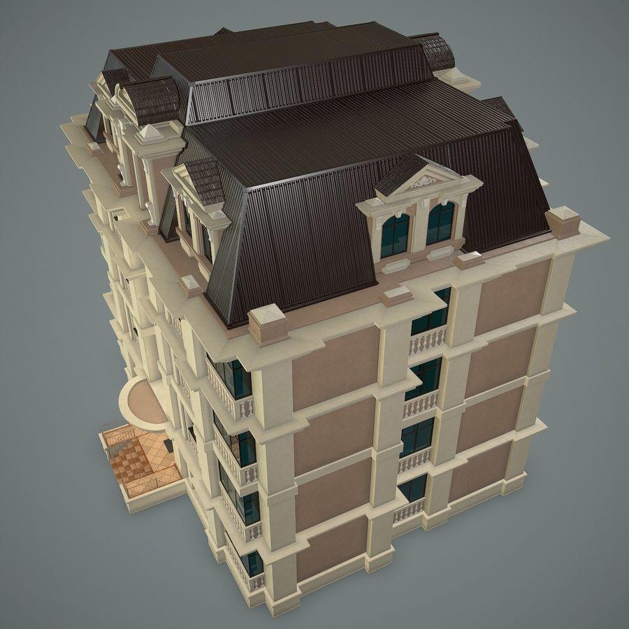 低层建筑 royalty-free 3d model - Preview no. 5
