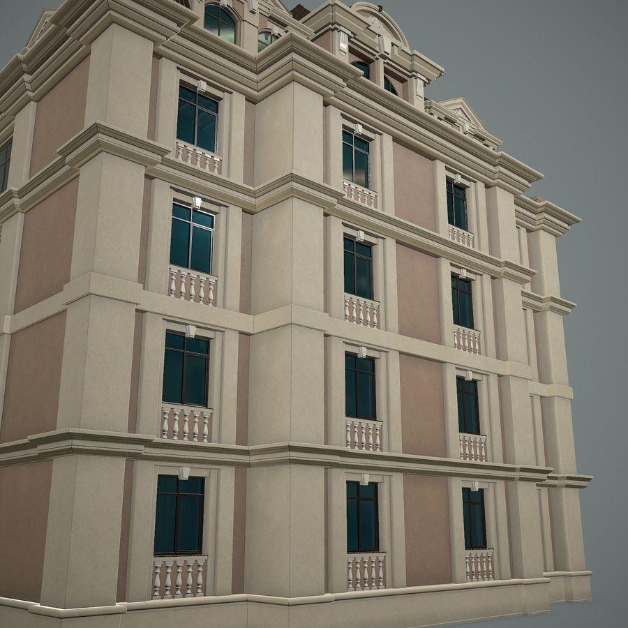 低层建筑 royalty-free 3d model - Preview no. 11