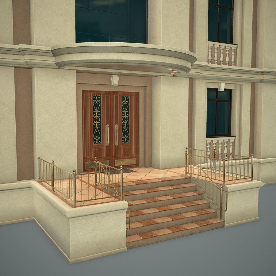 低层建筑 royalty-free 3d model - Preview no. 7