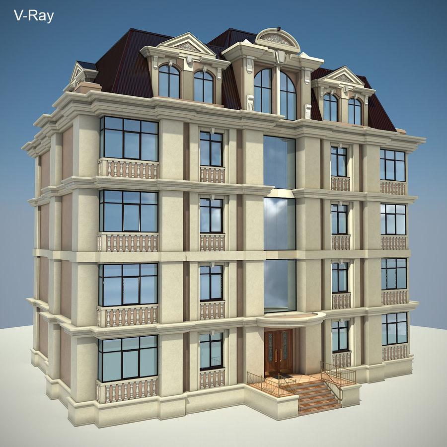 低层建筑 royalty-free 3d model - Preview no. 23