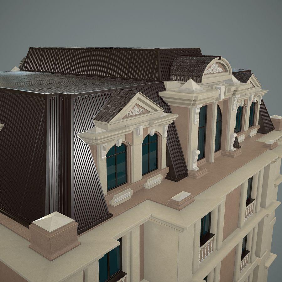 低层建筑 royalty-free 3d model - Preview no. 12