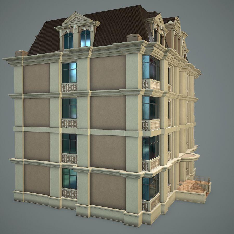 低层建筑 royalty-free 3d model - Preview no. 15