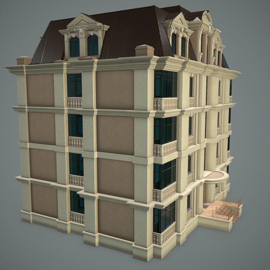 低层建筑 royalty-free 3d model - Preview no. 3