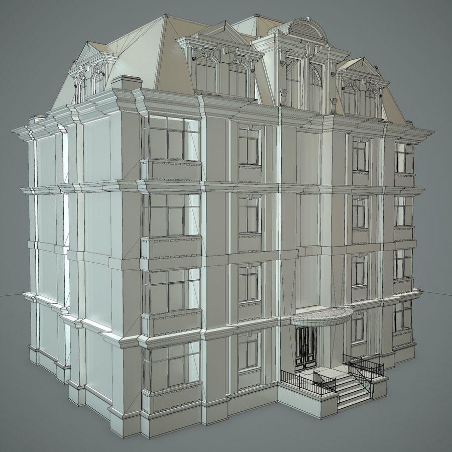 低层建筑 royalty-free 3d model - Preview no. 16