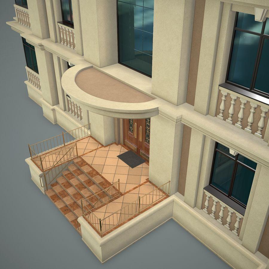 低层建筑 royalty-free 3d model - Preview no. 8