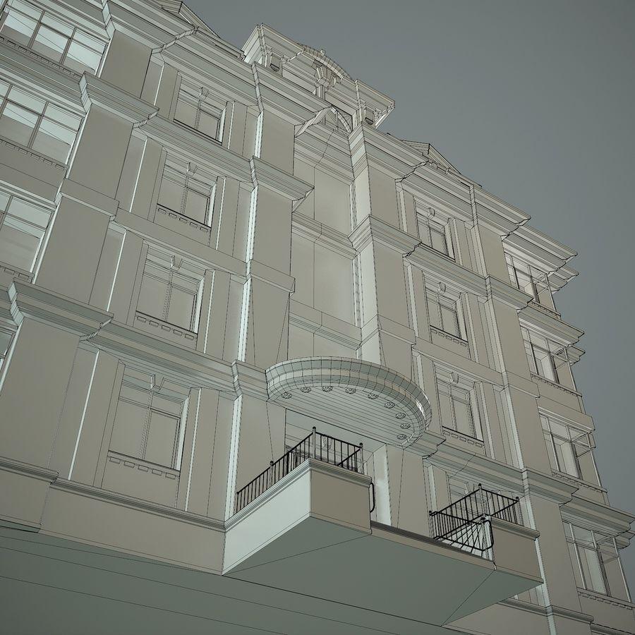 低层建筑 royalty-free 3d model - Preview no. 21
