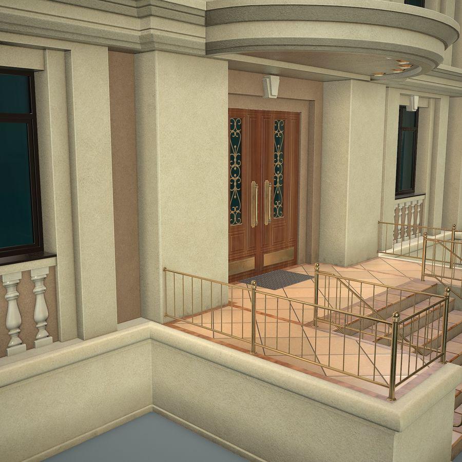 低层建筑 royalty-free 3d model - Preview no. 9
