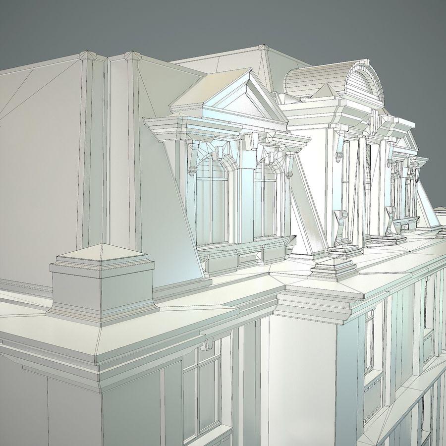 低层建筑 royalty-free 3d model - Preview no. 19