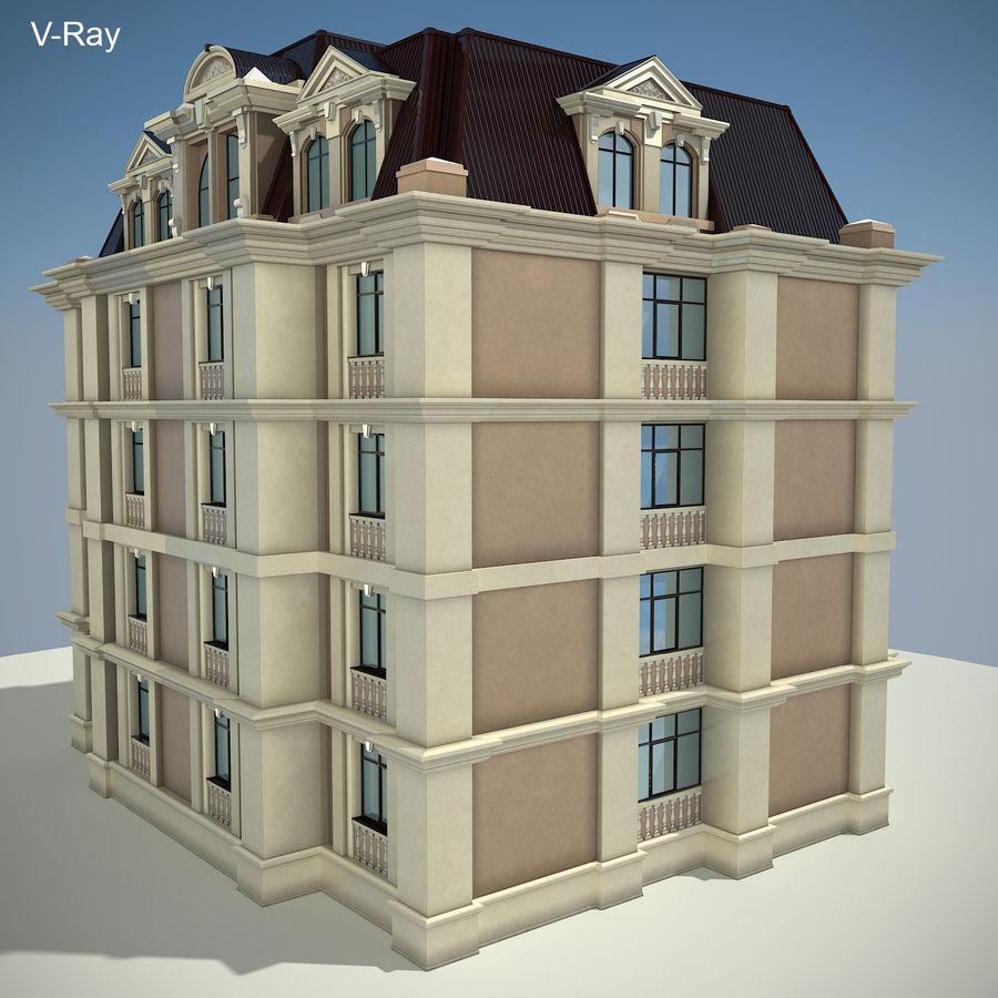 低层建筑 royalty-free 3d model - Preview no. 24