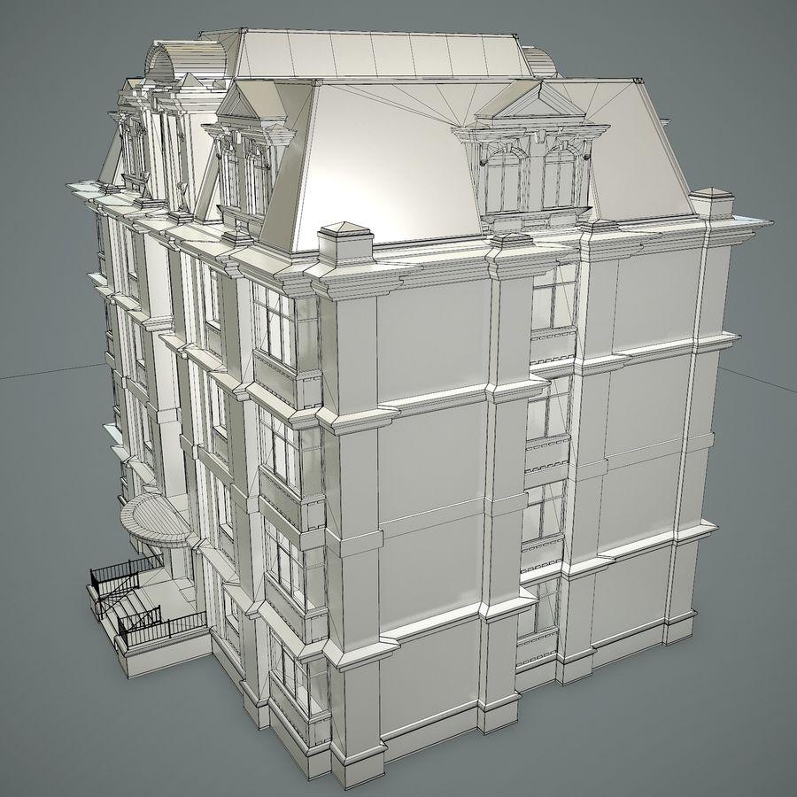 低层建筑 royalty-free 3d model - Preview no. 17