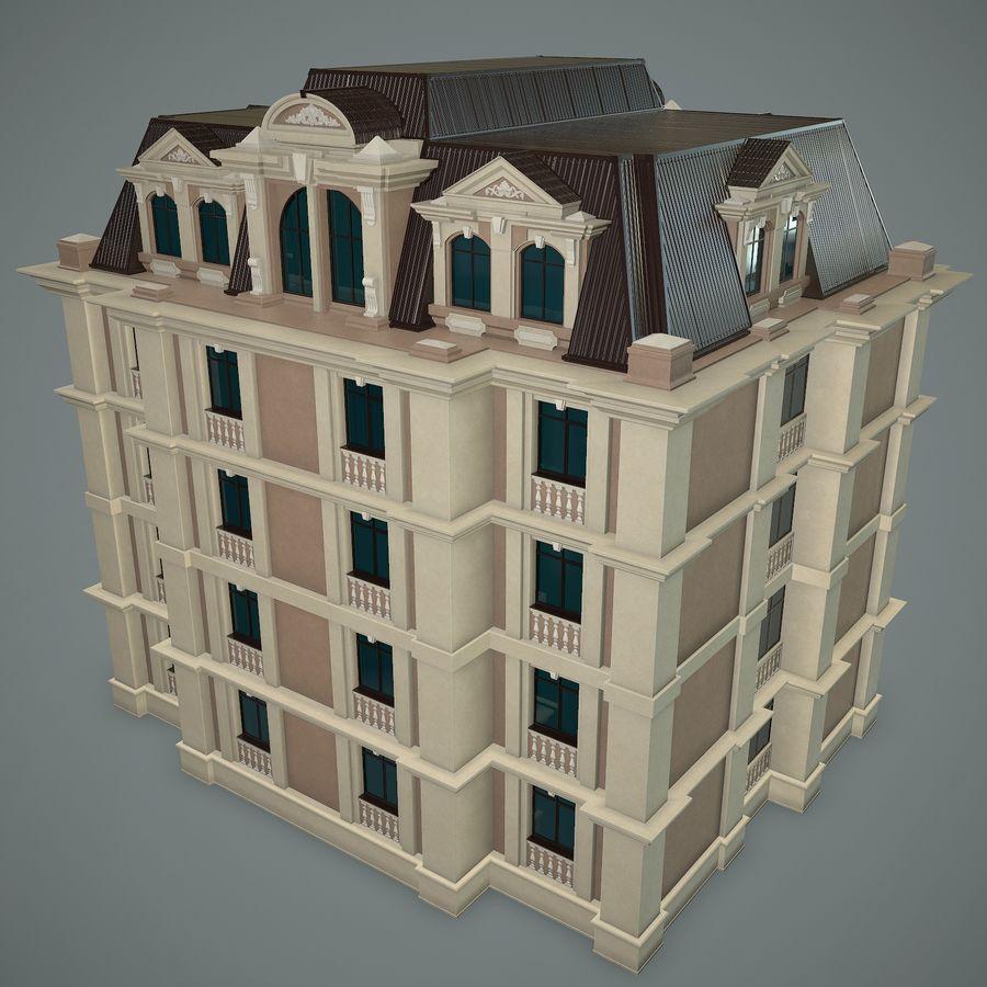 低层建筑 royalty-free 3d model - Preview no. 4