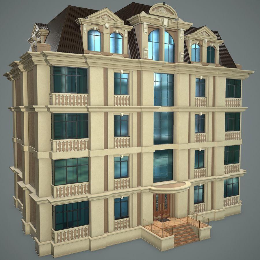 低层建筑 royalty-free 3d model - Preview no. 2