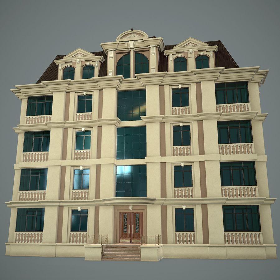 低层建筑 royalty-free 3d model - Preview no. 6