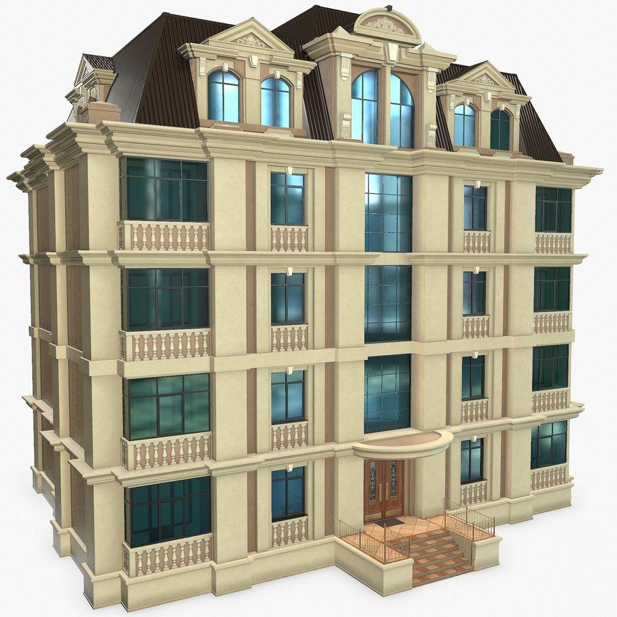 低层建筑 royalty-free 3d model - Preview no. 1