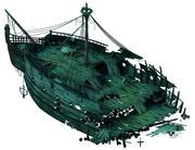 Shipwreck - Wreck Wreck 01 3d model