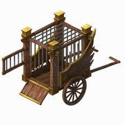 军营-囚犯032 3d model
