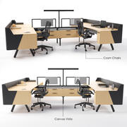 Canvas Vista Workstation 3d model