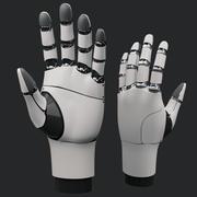 High Poly Robot Механическая рука 3d model