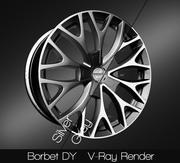 Borbet DY 3d model