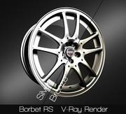 Borbet RS 3d model