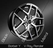 Borbet Y 3d model