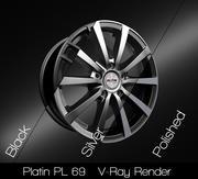 Platin PL 69 3d model
