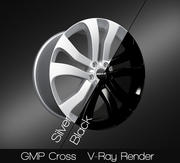GMP Cross 3d model