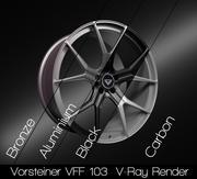 Vorsteiner VFF 103 3d model