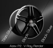 Azev P2 modelo 3d