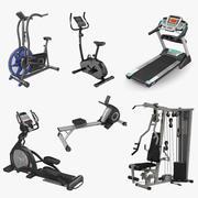 運動器具3Dモデルコレクション2 3d model