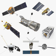 Satellite Collection 4 3d model