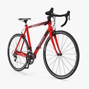 Bicicleta de carretera aparejada modelo 3d