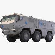 Kamaz Typhoon UN 3d model