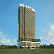 トランプインターナショナルホテルラスベガス 3d model