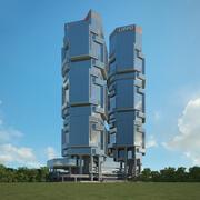Липпо Центр 3d model