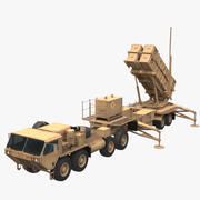Patriot MIM-104 Missile 3d model