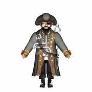 Piraat 3d model