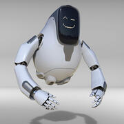 Droid Robot 3d model