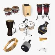 Ensemble de percussions Medi 2 3d model