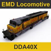 ЭМД локомотив 3d model