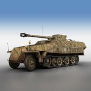 SD.KFZ 251/22 Ausf.D - Pakwagen - 545 3d model