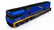 Nr lokomotywa 3d model