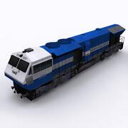 locomotiva wdp4 3d model