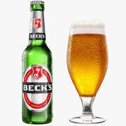 ビールコレクション 3d model