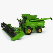 Combine Harvester 2019 3d model